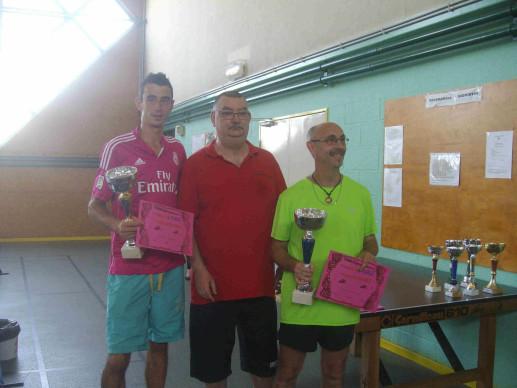 vainqueurs doubles 17e tournoi TT
